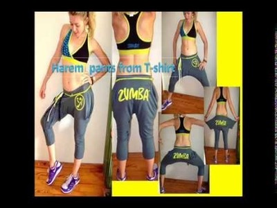 Harem Pants From Zumba® T-Shirt