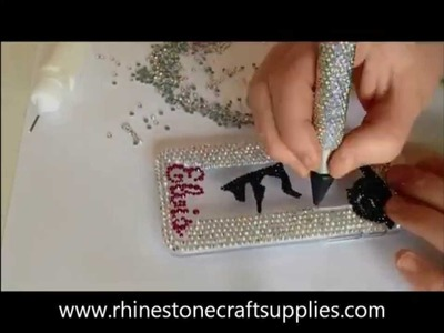 HOW TO BLING A PHONECASE