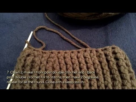 How To Crochet A Warm Hat - DIY Crafts Tutorial - Guidecentral