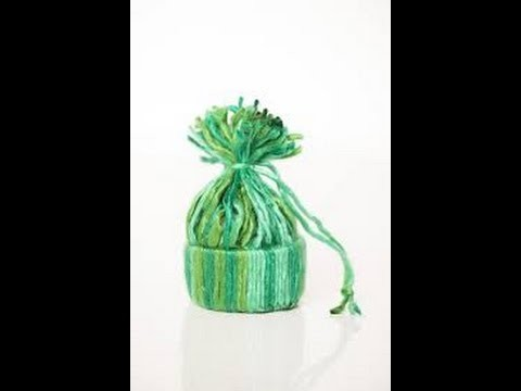 How to DIY Adorable Yarn Hat Ornament | How to DIY Adorable Yarn Hat Ornament + Tutorial .