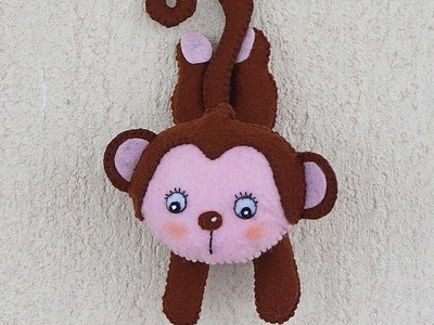 How To Make A Cute Felt Monkey - DIY Crafts Tutorial - Guidecentral