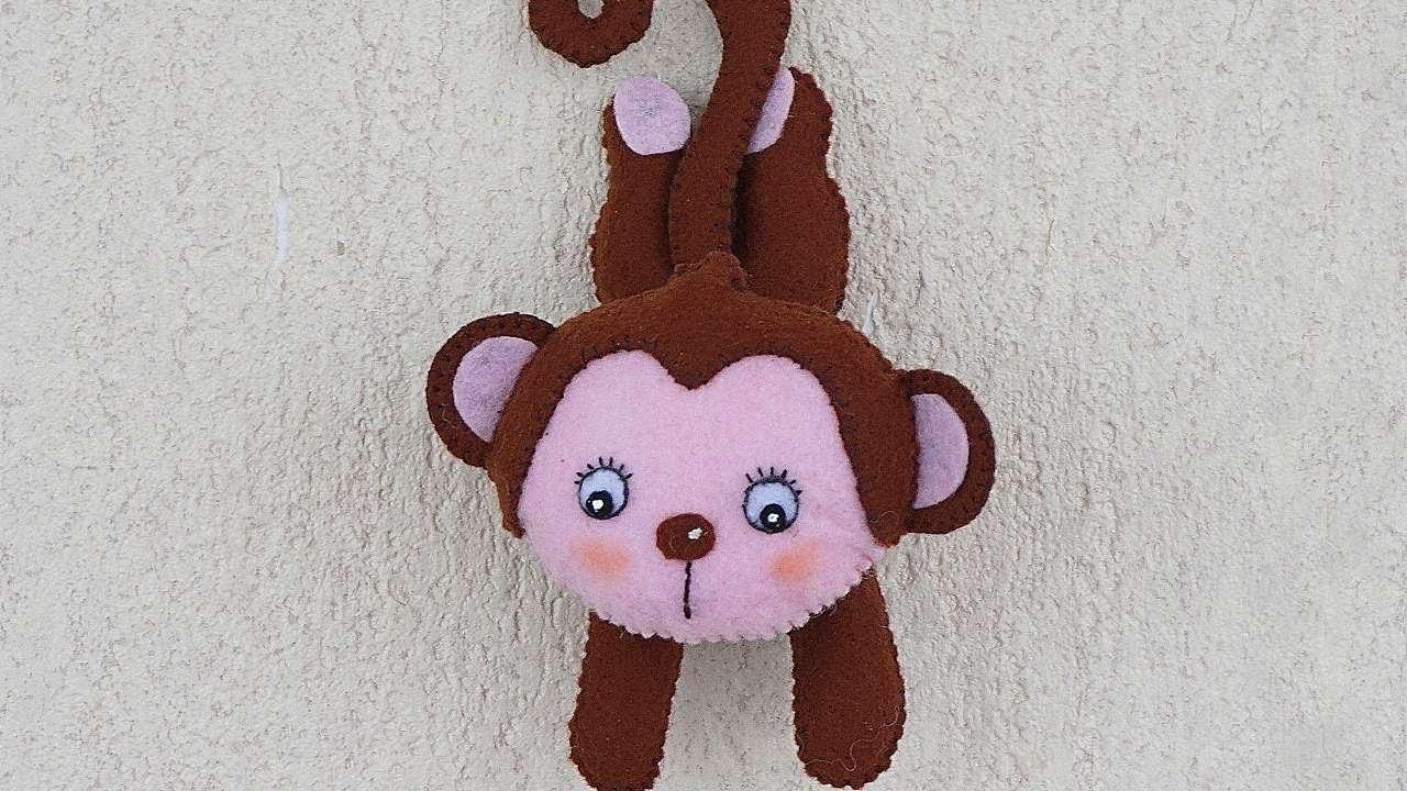 How To Make A Cute Felt Monkey - DIY Crafts Tutorial - Guidecentral