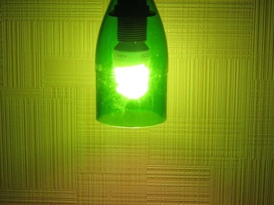 How To Make A Lamp From A Glass Bottle - DIY Home Tutorial - Guidecentral