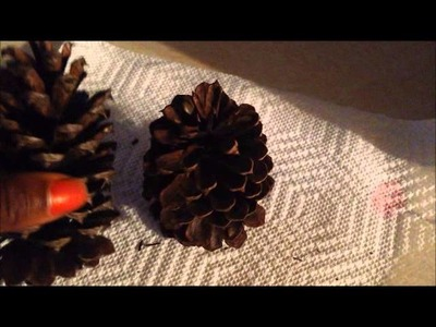 How to make cinnamon scented pine cones