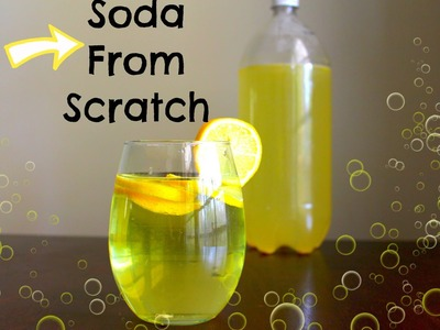 How to Make Homemade Soda - DIY Recipe