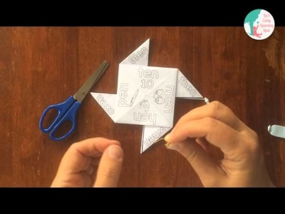 How to Use a Straw to Make an Origami Pinwheel