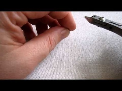 """Jewelry Making Tip:  """"Tuck In"""" Your Wire Ends"""