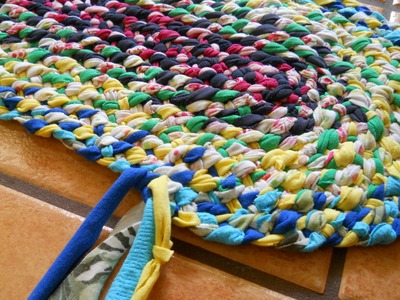 Lost Art of Braid-in Rag Rugs Part 3