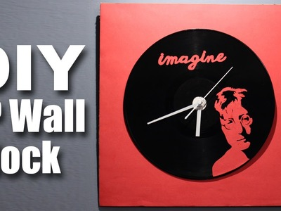 Mad Stuff With Rob - How To Make A LP Wall Clock | John Lennon Special