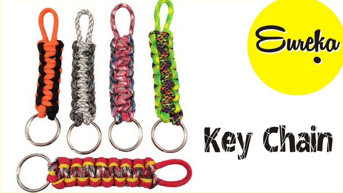 Make your own keychain Easy !! Craft gift. Homemade. DIY e251e4929