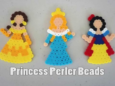 Princess Perler Bead Tutorial