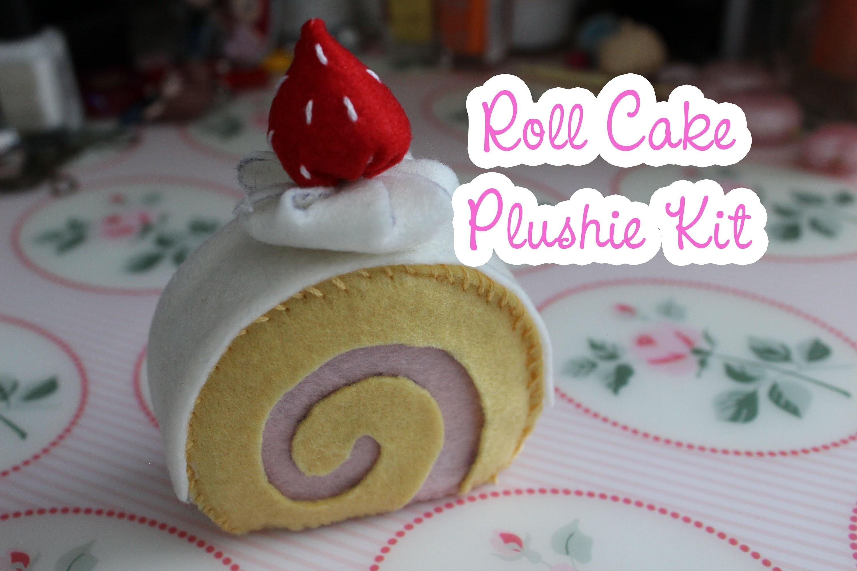 Roll Cake Plushie Kit