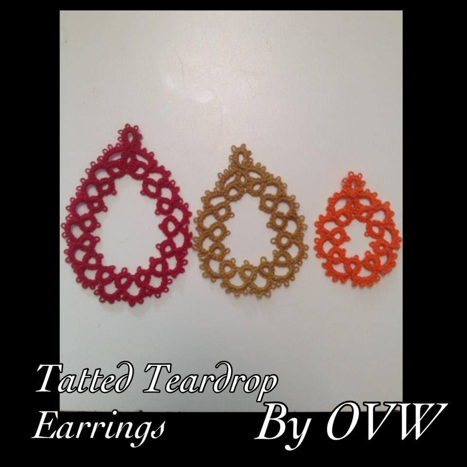 Tat Tantastic - EARRINGS (TEARDROPS)