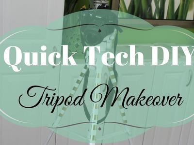 TECH DIY:  Quick Tripod Makeover