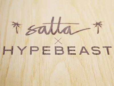 The Process of Building a Satta Dart Skateboard with Joe Lauder