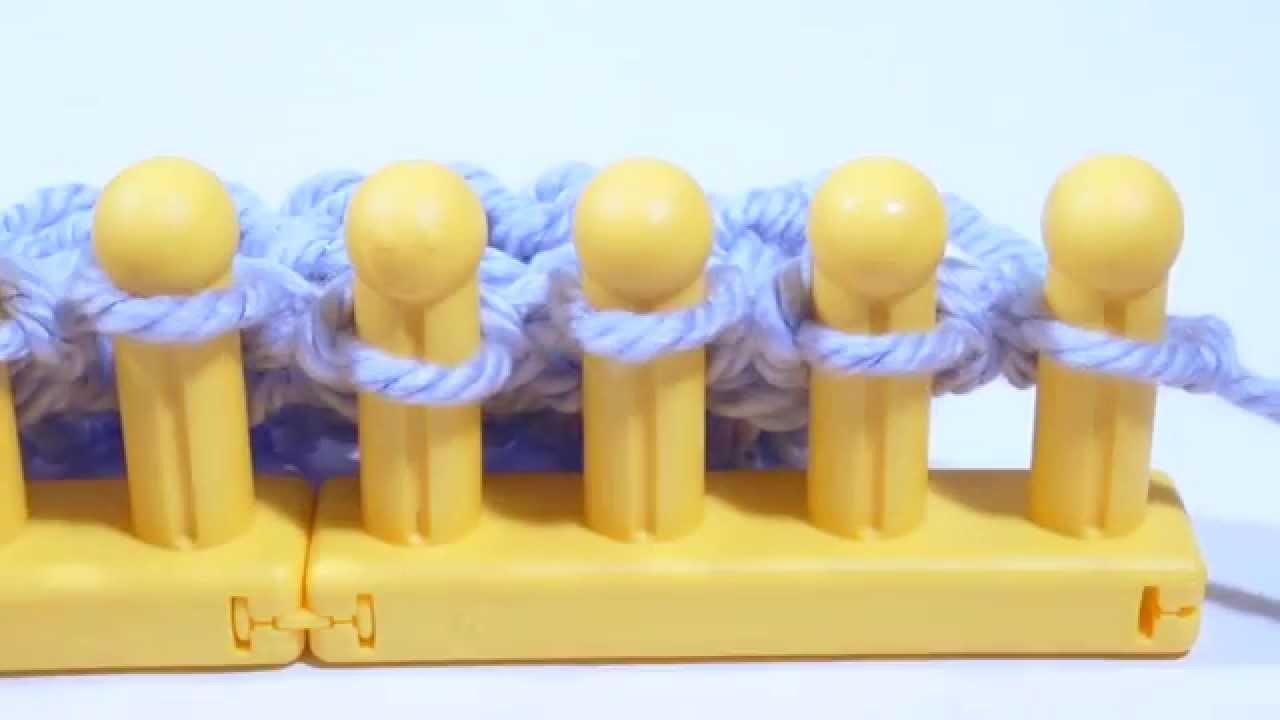 Zippy Loom - Seed Stitch