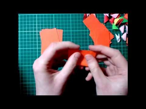 3D Origami - How to fold the pieces