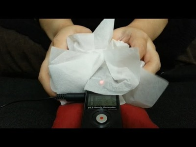 [ASMR] Pure Crinkles 《Tissue Paper》Visual Sounds for Relaxation