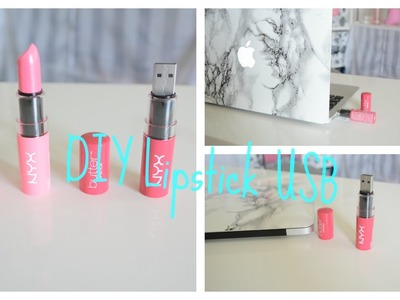 Back to School : DIY Lipstick USB