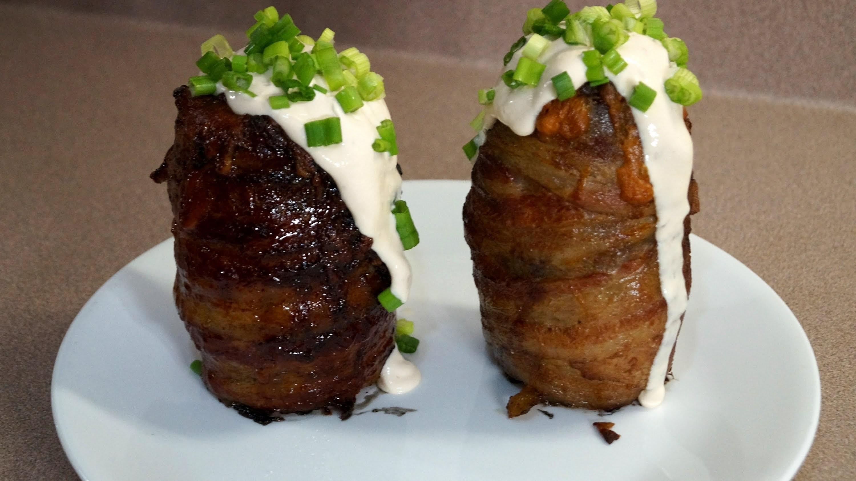 BBQ Volcano Potato Recipe -  BBQFOOD4U