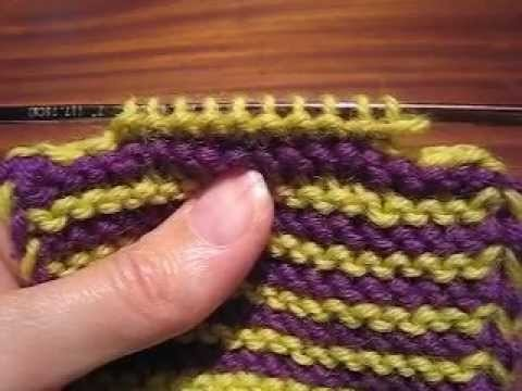 Bind-Off at Both Ends
