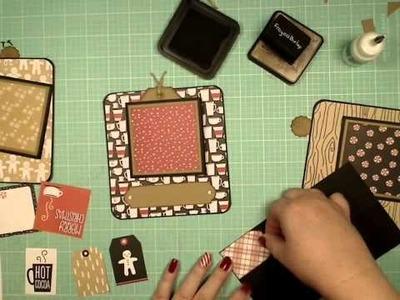 Boxed Accordion Decorating Part 5