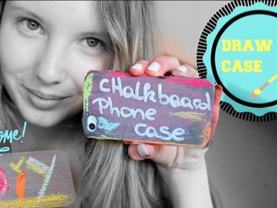 Chalkboard Phone Case | DIY Blackboard
