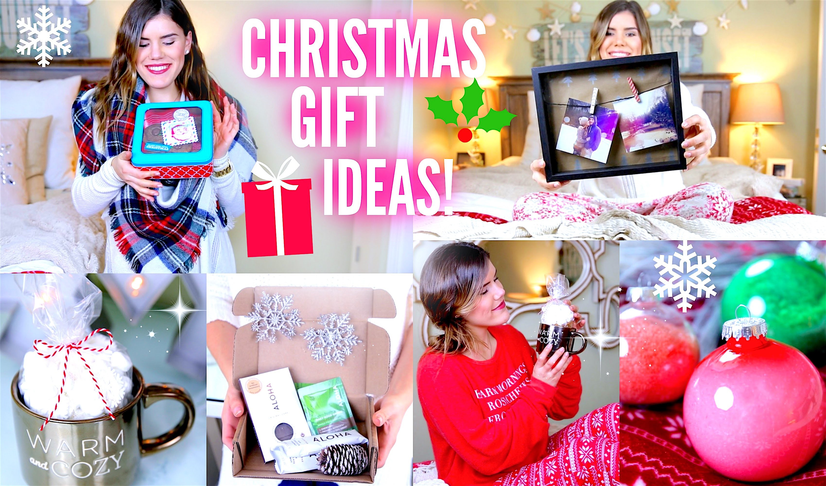 Christmas Gift Ideas! Affordable, DIY, & Easy!