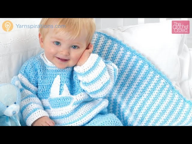 Crochet Hush A Bye Baby Blanket Tutorial