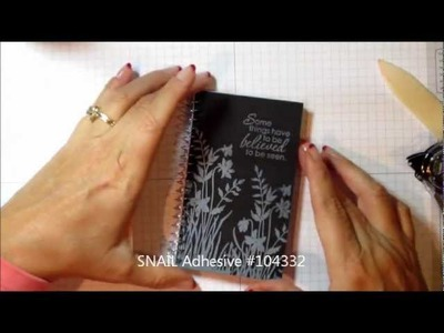 Decorate a Spiral Notebook for a Gift