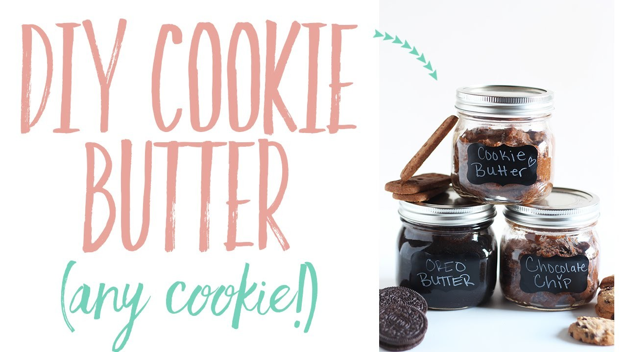 DIY Cookie Butter (use any cookie!) | Homemade Recipe