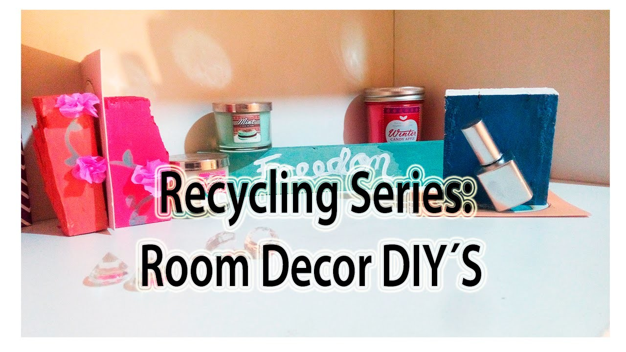 DIY: Decor your room without spending! Recycling series: use pieces of wood to decorate your desk.