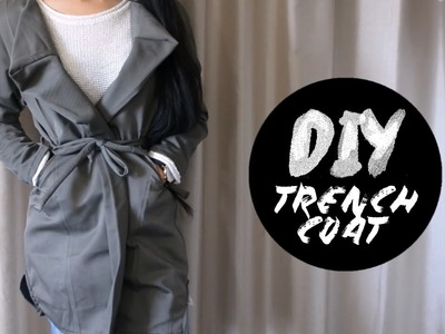 DIY Dress Pants into Trench Coat | Injoyy