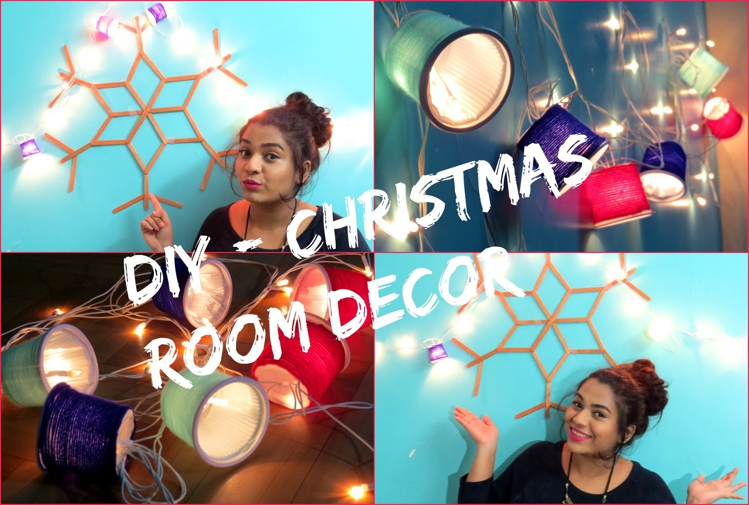 DIY: Easy And Simple Christmas Decorations | December Series ♡