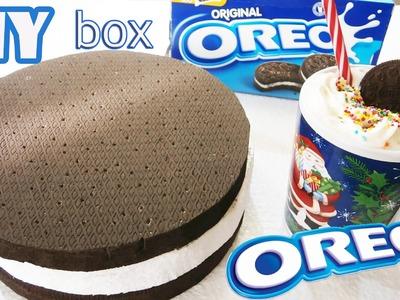 DIY Giant OREO Box. How to make OREO box. Easy OREO Life hack