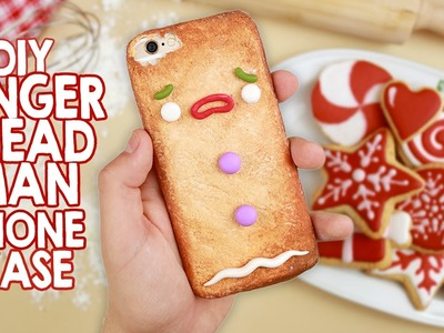 DIY | Gingerbread Man Phone Case - Cover Omino Marzapane