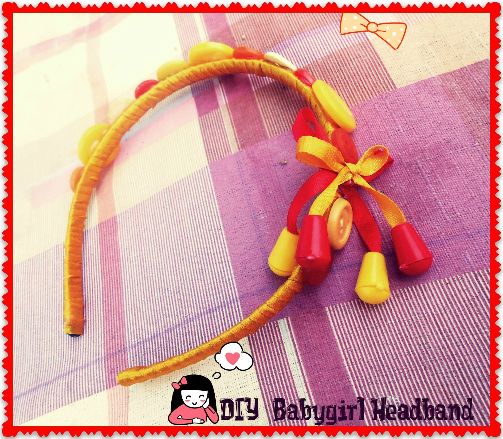 DIY : HeadBand for your baby girl