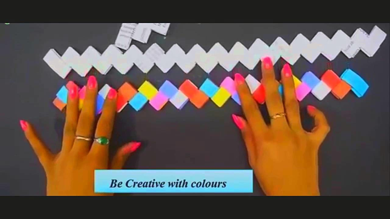 DIY- How to Make Paper Basket From Decorate
