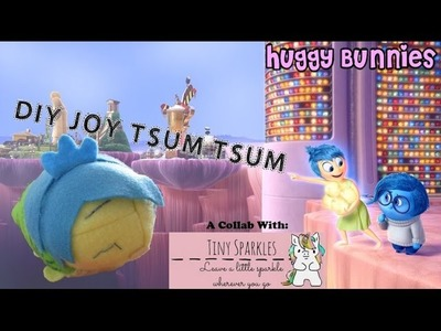 DIY Joy Tsum Tsum (Collab with Tiny Sparkles) ╏ Huggy Bunnies