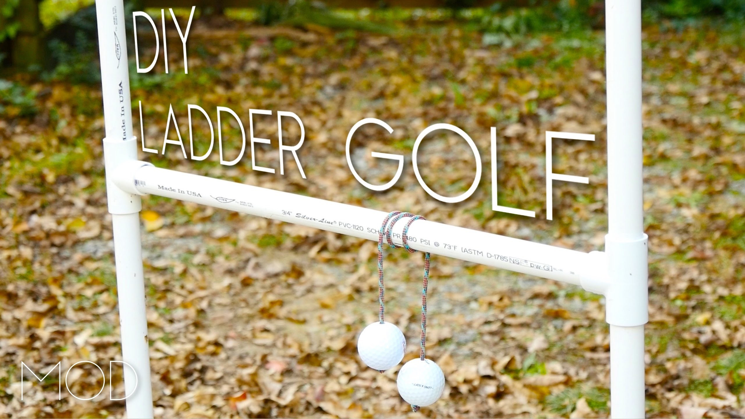 DIY Ladder Ball