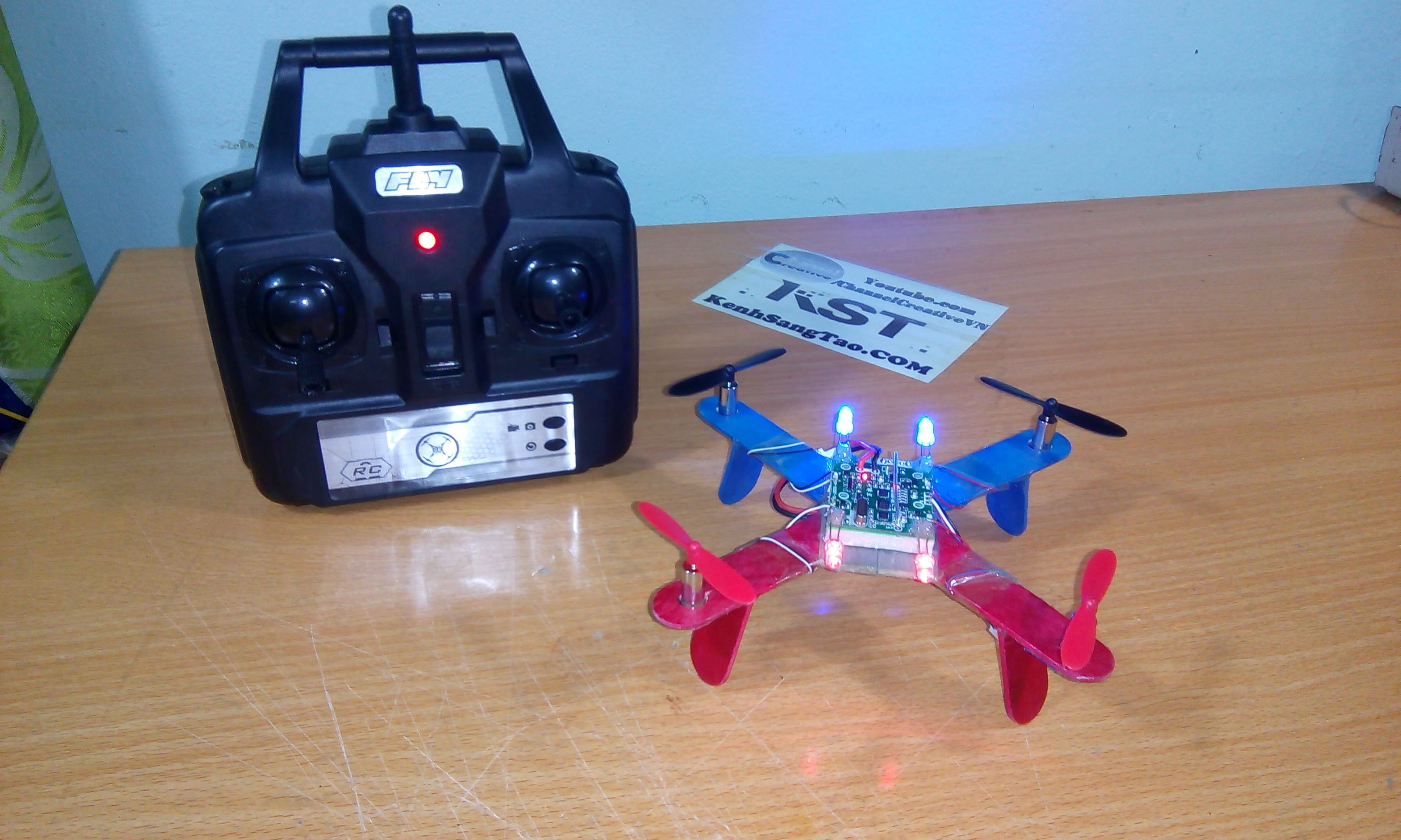 Beginners guide on how to build a mini FPV 250 quadcopter