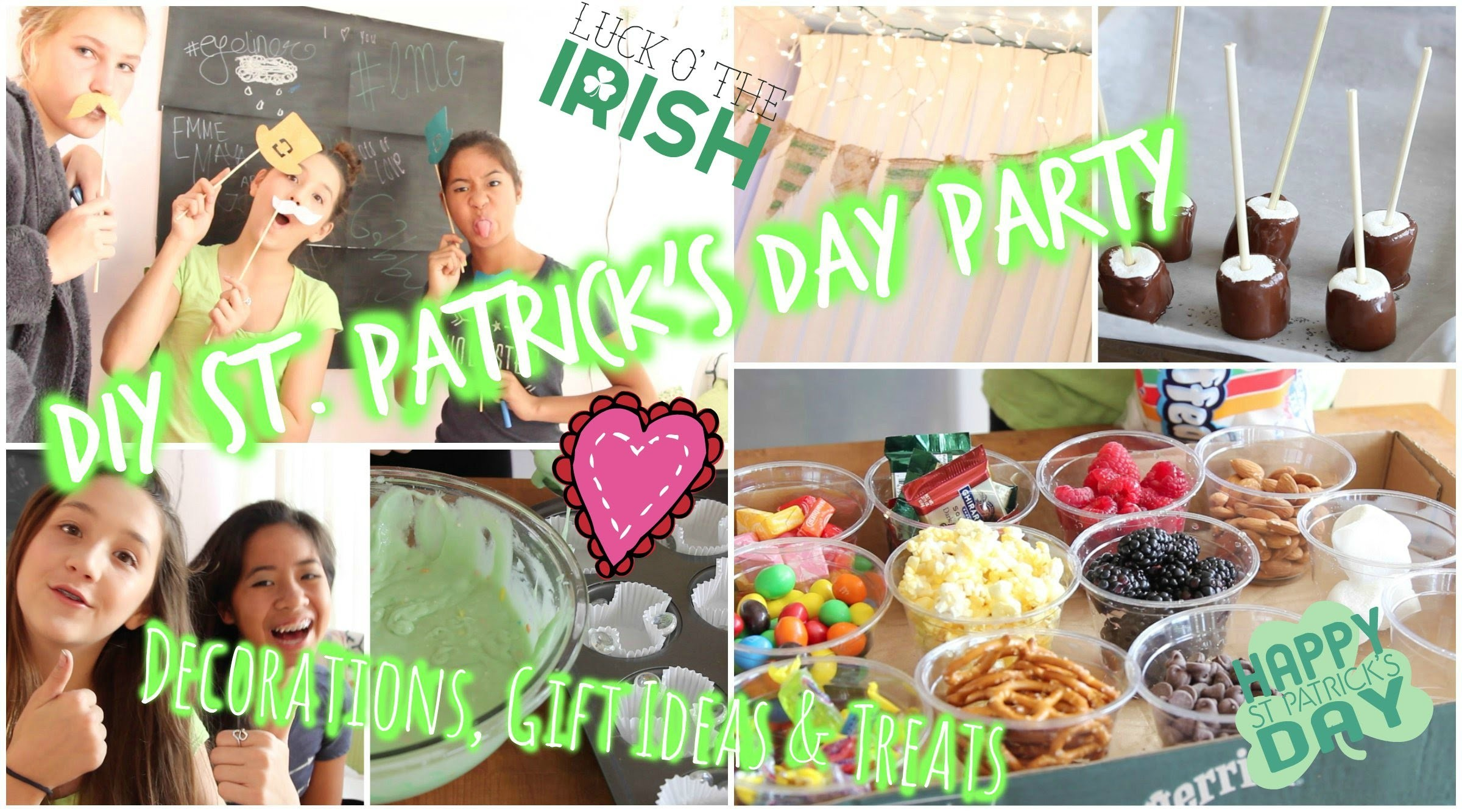 DIY St  Patrick's Day Party: Decorations, Gift Ideas & Treats