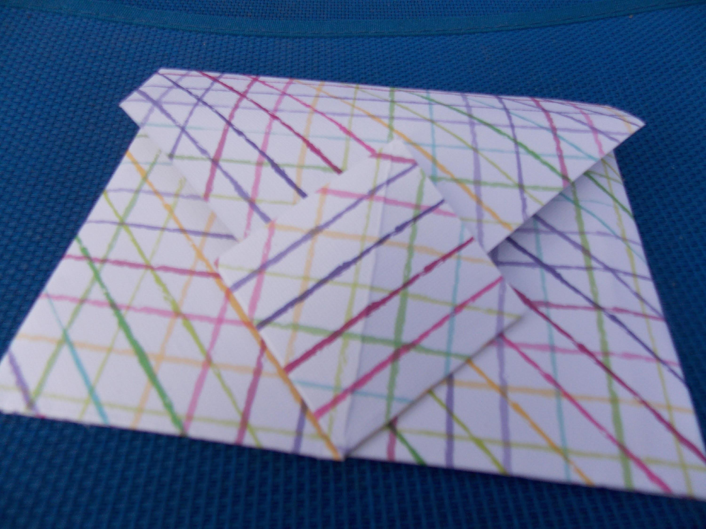 Easy origami envelope part 2
