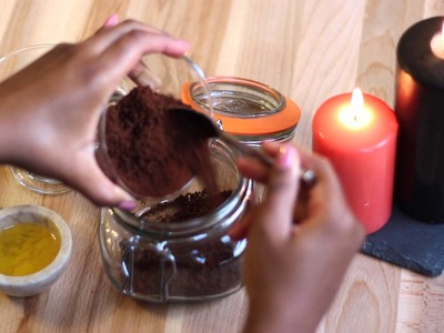 Hand + Body Coffee Scrub |DIY