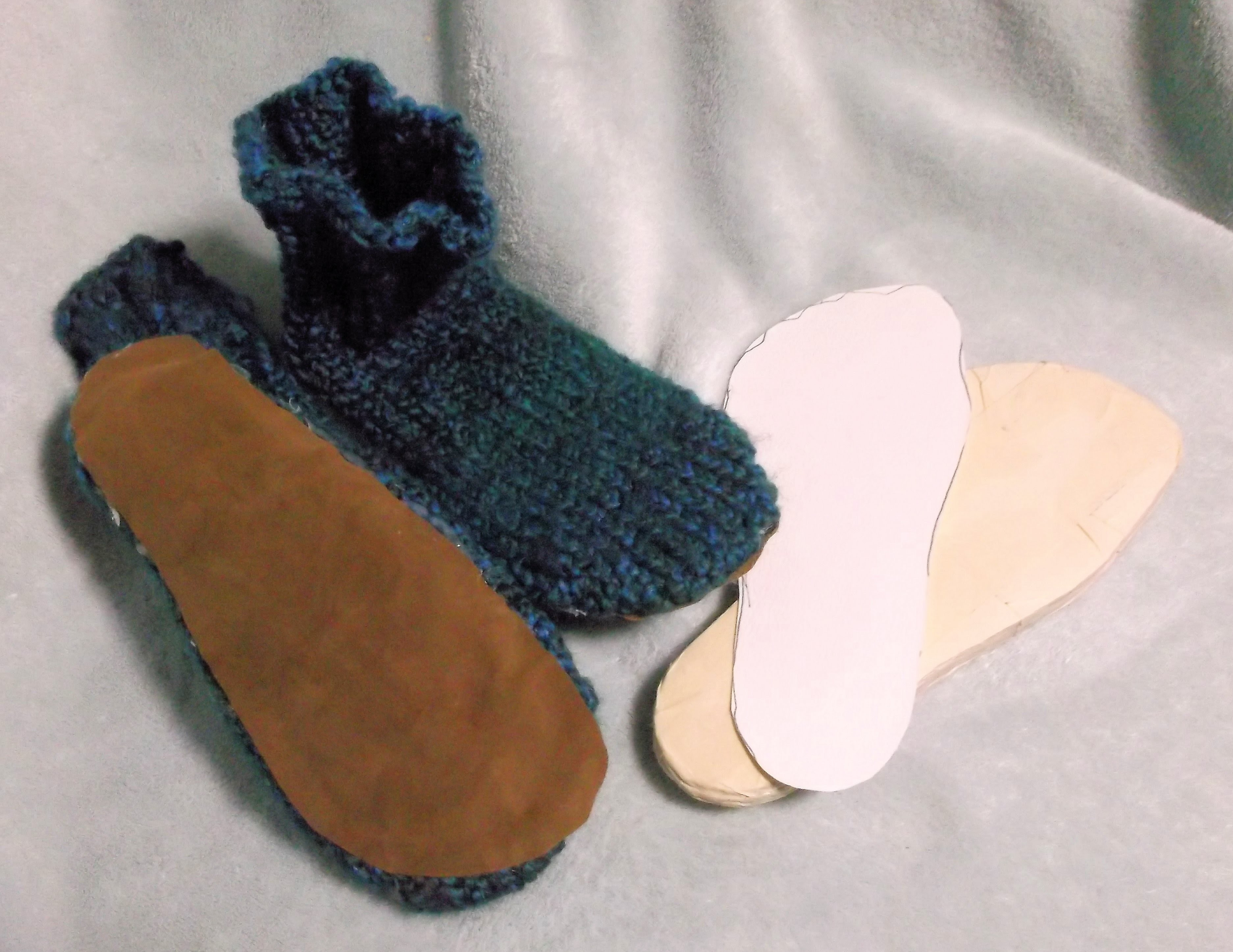 How to Add a Cushioned Sole to Booties
