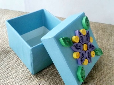 How To Create A Quilled Decorative Gift Box - DIY Crafts Tutorial - Guidecentral