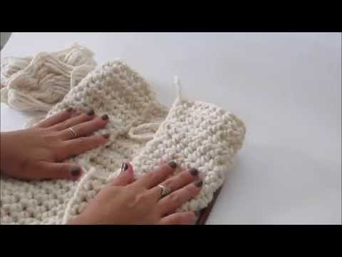 How to crochet a cowl