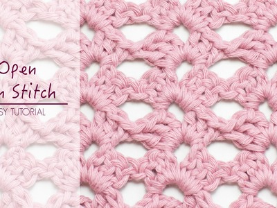 How To: Crochet The Open Fan Stitch