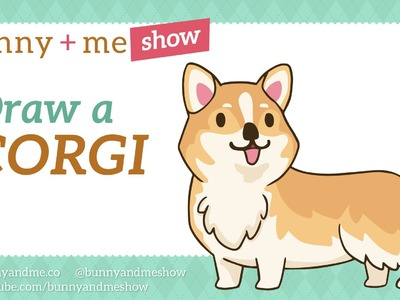 How to draw a Corgi - Easy Drawing Tutorial