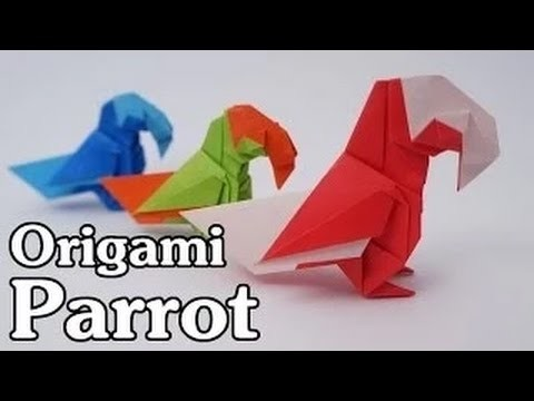 How to Fold A Parrot --Origami Bird Parrot By STS P6